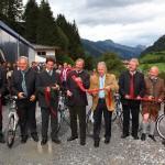 Eröffnung des Radweges