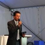 Moderator Martin Ferdiny vom ORF Salzburg führt gekonnt durch das Programm
