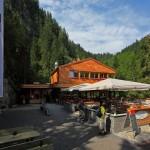 Das neue Eingangsgebäude an der Liechtensteinklamm