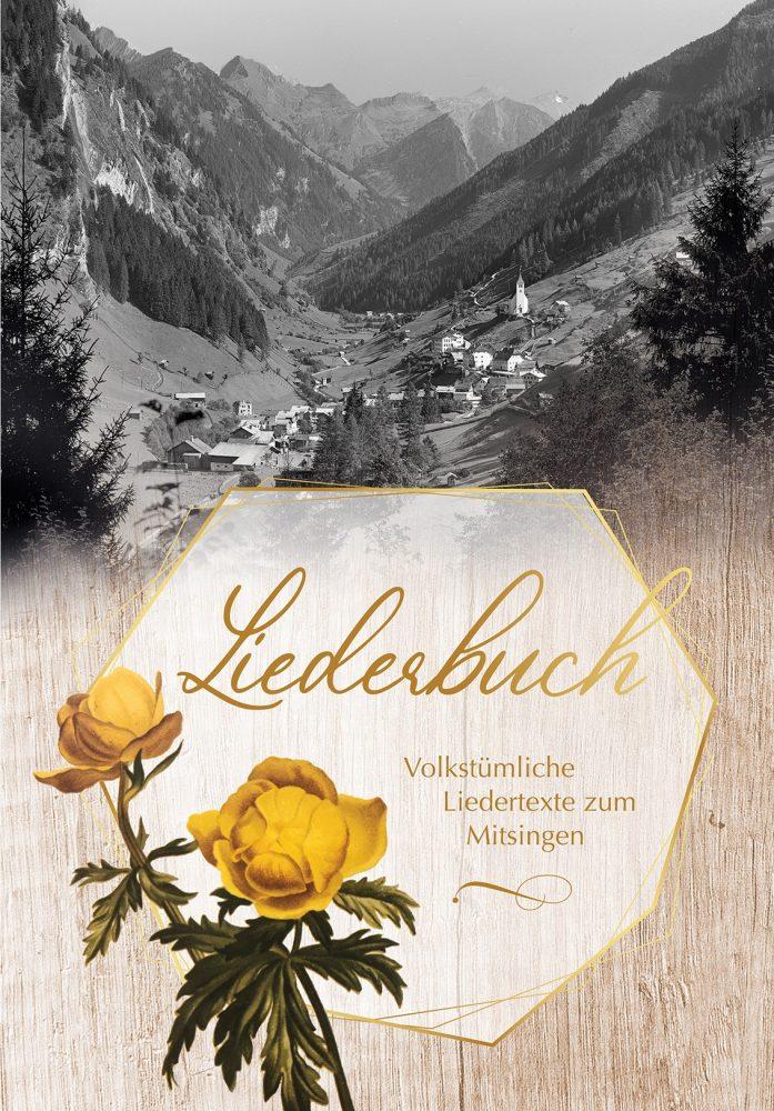 Liederbuch von Doris Aichhorn - Titelblatt