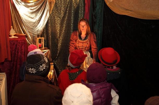 In der Märchenstube beim Salzburger Bergadvent
