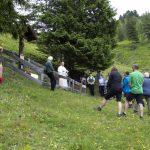 Bergmesse beim Kreuz neben der Loosbühelalm