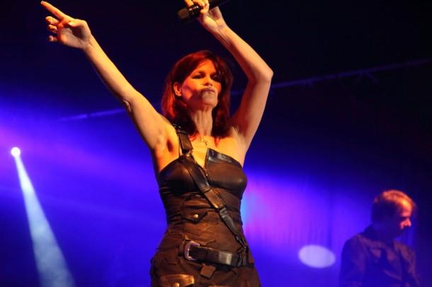 """Andrea Berg - die deutsche """"Schlagerqueen"""" im Element auf der Showbühne im Großarltal"""