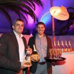 Bruno und Hans sorgen für den Welcome-Drink