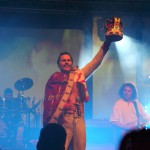 Queen Revival Band bei der Welcome-Party
