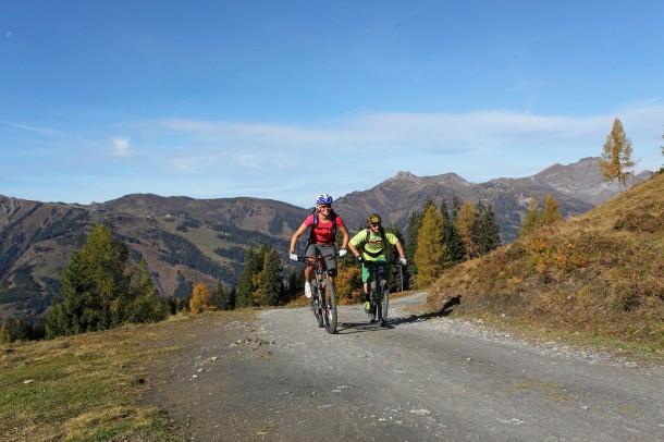 Wöchentlich 12 geführte Biketouren