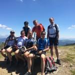 Mountainbiken als Gemeinschaftserlebnis - Großarler Bürgermeister, Hoteliers, Geschäftsführer von TVb und Bergbahn
