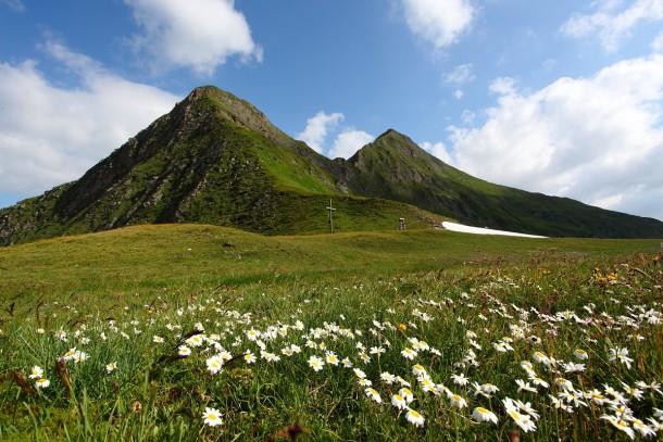 Am Murtörl - Übergang zwischen den beiden Nationalparkgemeinden Hüttschlag und Muhr
