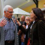 Caroline Koller mit dem weit angereisten Karl Ganitzer der seit 1963 in Melbourne/Australien lebt