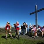 Lieder und Weisen erklingen am Gipfel