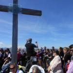 Neues Gipfelkreuz des Kreuzkogel