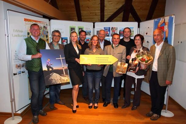 Mitarbeiter, Mitglieder und Partner von Österreichs Wanderdörfer
