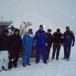 Die Iglu-Bau-Mannschaft