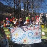 Die Waldhofzwerge als Clowns verkleidet