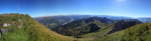 Höllwand 180° Panorama