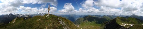 Nebelkareck, 2.535 m - Panorama