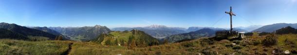 Panorama vom Sonntagskogel, 1.849 m