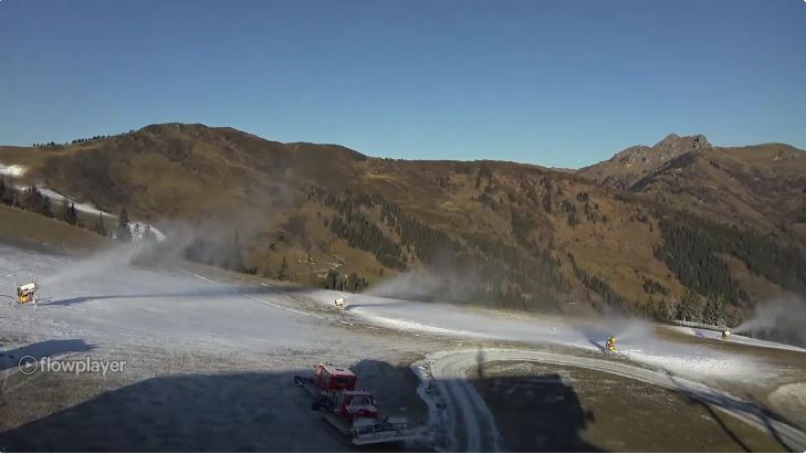 Aktuelles Panoramabild Großarltal vom 17. November 2018