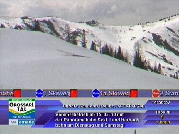 Panoramabild Großarltal 30. April