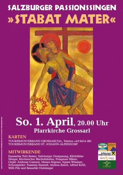 Einladung Passionssingen 2012