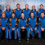 Mannschaftsfoto von Pistendienst und Schneiberteam - allerdings nicht mehr ganz aktuell sondern aus 2016.