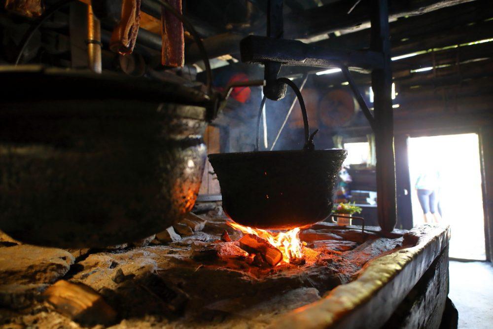 offene Feuerstelle uaf der Karseggalm