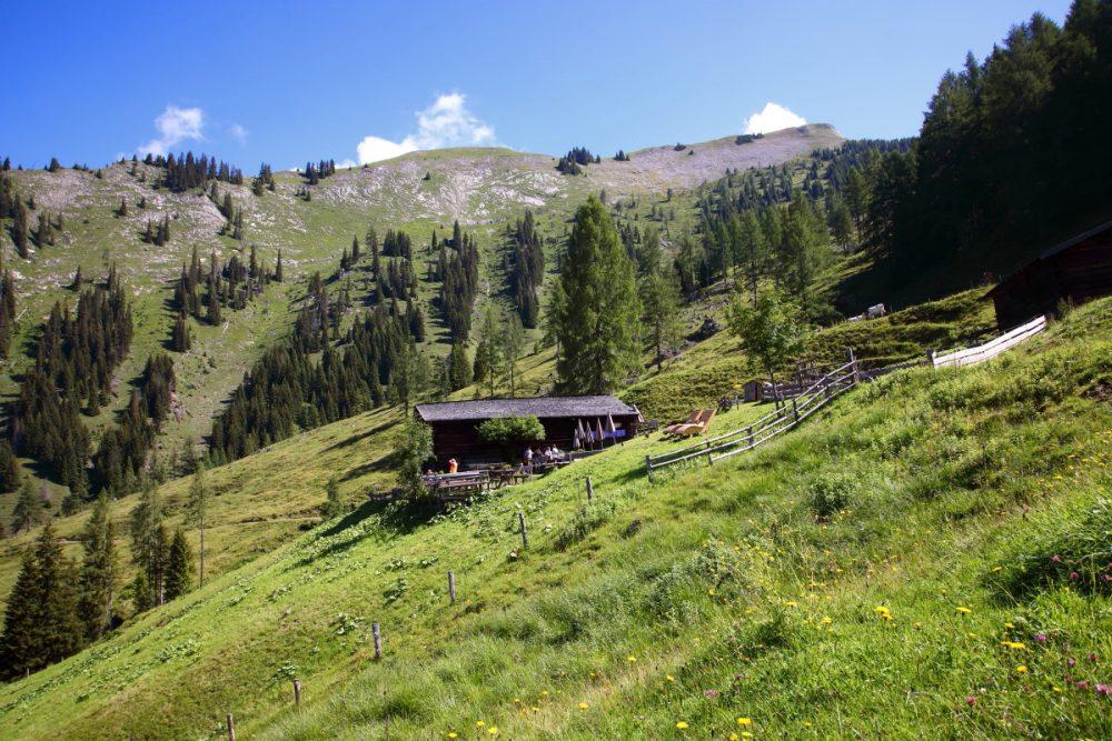 Almsommerhütte Karseggalm