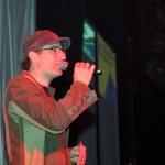 DJ Alex bei der Sumpfkröten-Party