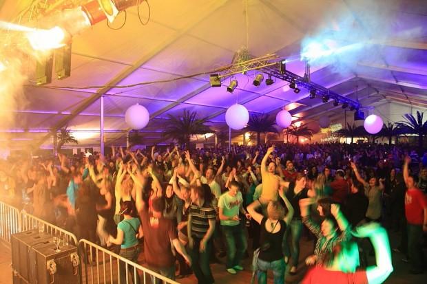 Smokie live on stage in Großarl