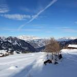 Saukaralm (1.850 m) mit Höhenloipe ist auch ein ideales Ziel für Schneeschuhwanderer