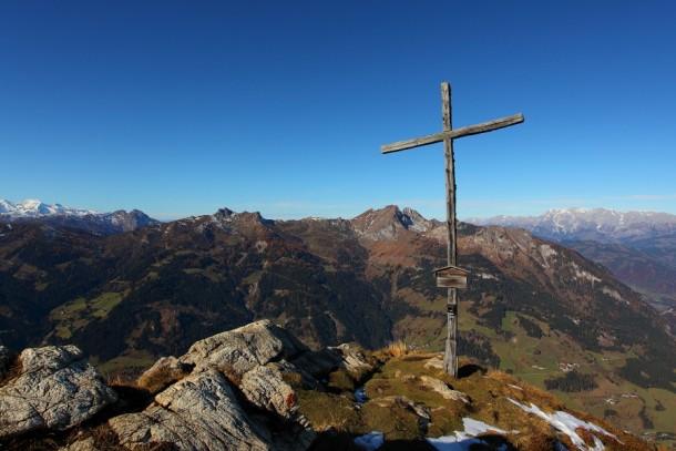 Gipfelkreuz vom Saukarkopf 1986-2014