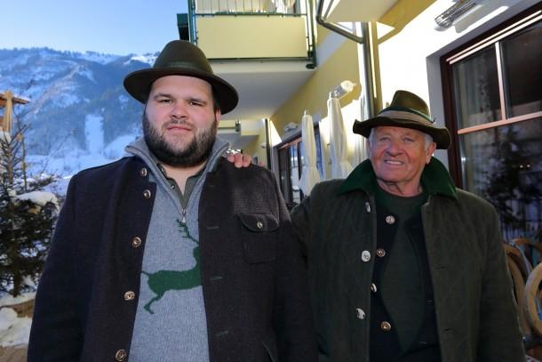 Das Organisationsteam Markus Hettegger (links) und Walter Mooslechner