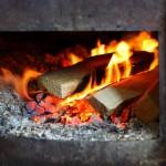 Feuer im Brennkessel