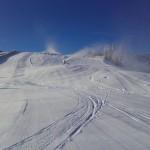 Schneeerzeugung mit enormen Leistungspotential - Bild: Klaus Haigl/Bergbahnen