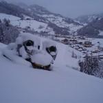 Viel Schnee im Tal, wie schon sehr lange nicht mehr