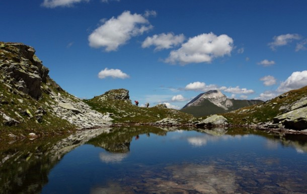 Bergsee unterm Schöderhorn Hüttschlag im Großarltal - unberührte Landschaften mit extremen Erholungswert