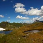 Aufstieg zum Schöderhorn - kleine Lacken zieren den Weg