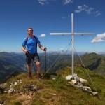 Das Schöderhorn, mit 2.475 m der höchste Punkt meiner Tour ist erreicht