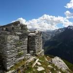 Blick vom Schöder-Wachthaus zum Keeskogel