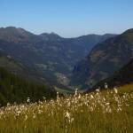 Unterwegs zum Murtörl - der Blick hinaus nach Hüttschlag