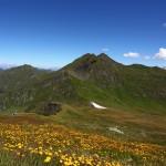 Blick vom Mureck auf´s Murtörl und das Nebelkareck