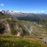 Blick hinüber Richtung Keeskogel und Schöder-Wacht - zum Greifen nah