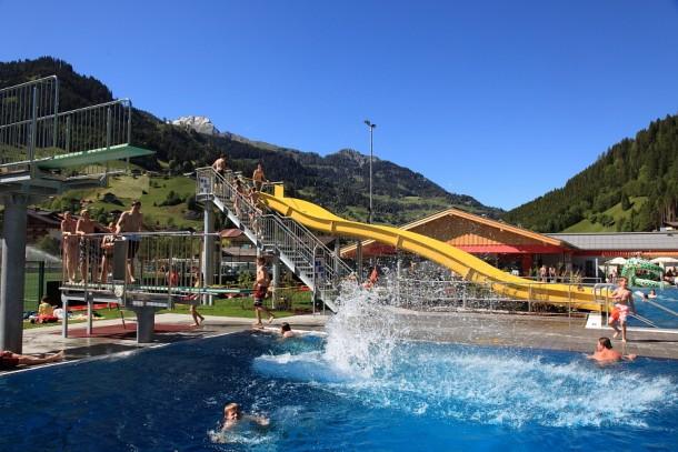 Erlebnis-Schwimmbad in Großarl