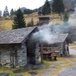 Talmuseum. Der Brotbackofen raucht schon ...