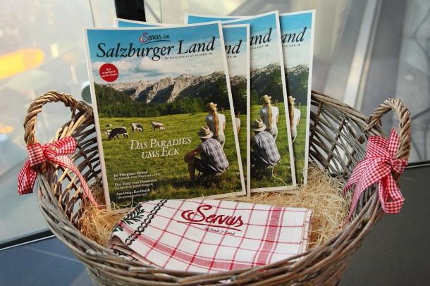 Druckfrisches SERVUS-MAGAZIN Salzburger Land