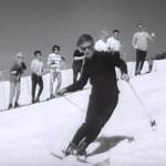 Skifahren anno dazumal
