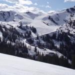 Skigebiet Großarltal am 7. April 2011