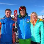 Armin Assinger mit unserem Schneiber Markus + Freundin