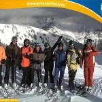 Skikeriki mit Enzo Knol und seinen Freunden sowie Bergbahnmitarbeiter Peter