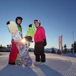 Vorfreude auf einen herrlichen Skitag